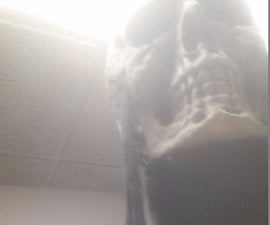 Rex Mortis 2.0 Giant Skull Mask with Laser Eyes