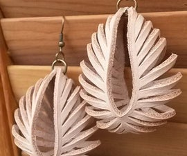 Transformable Leather Sculpted Earrings