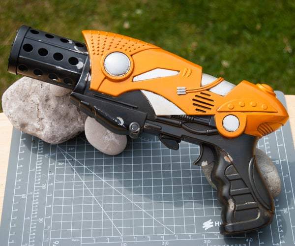 Turn a Toy Gun Into an Awesome Prop Weapon!