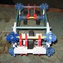 "knex battle car - ""The Ram"""