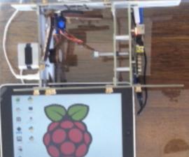iPad controlled Raspberry Pi powering an EggBot