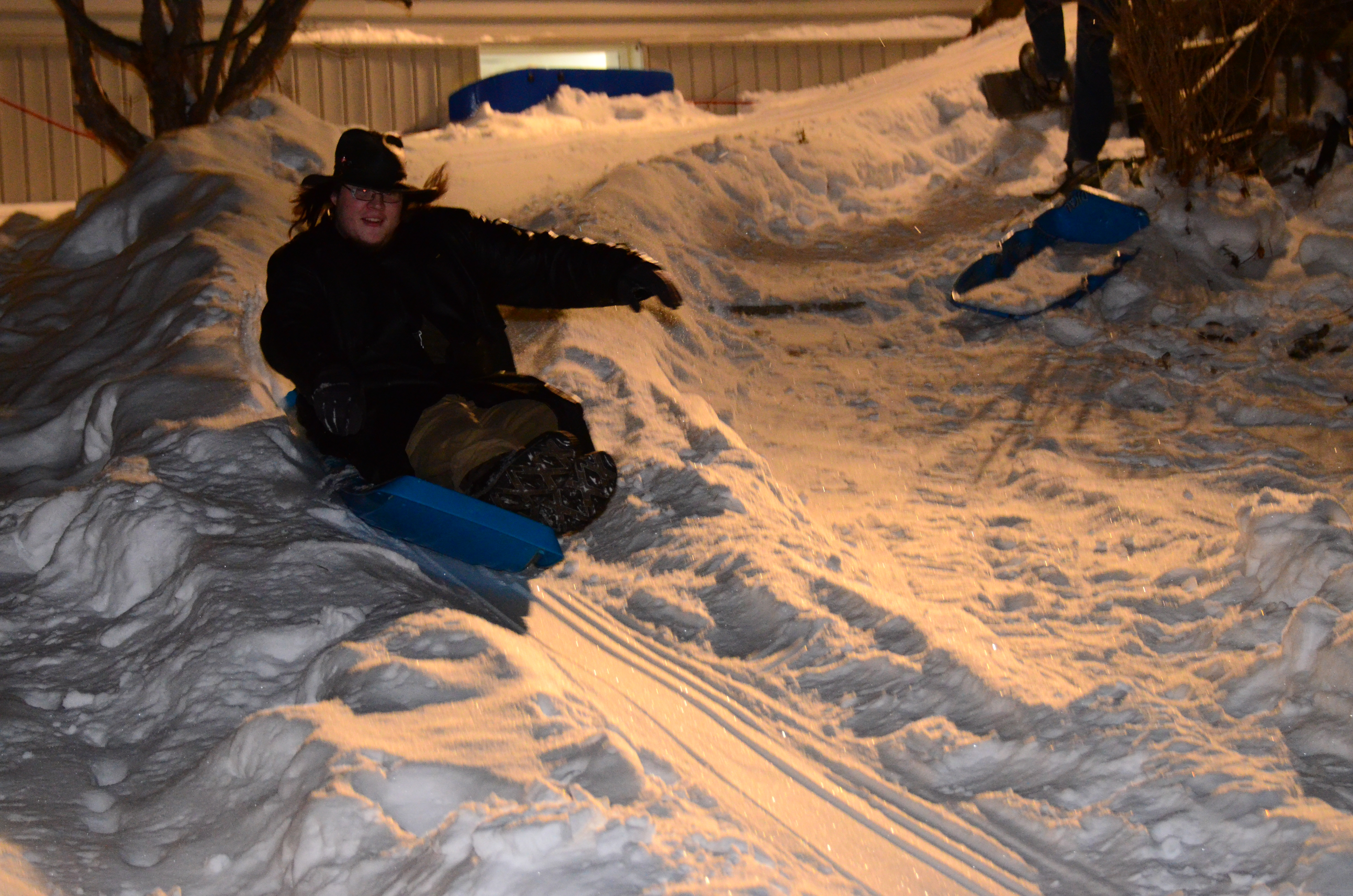 Picture of Making a Curved Snow Ramp