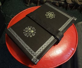 Hardcover Leatherbound Book Made From Scratch.