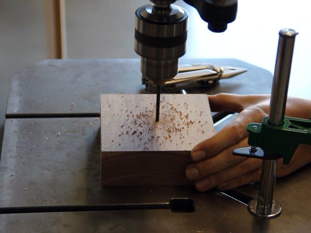 Picture of Make a Square, Drill the Cup Hole