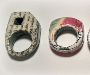 Paper Rings That You Can Actually Use Everyday