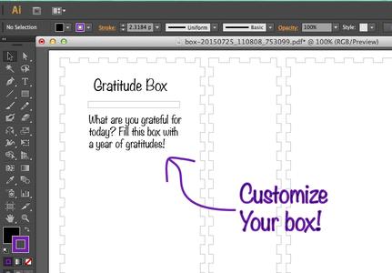 Customize Your Box