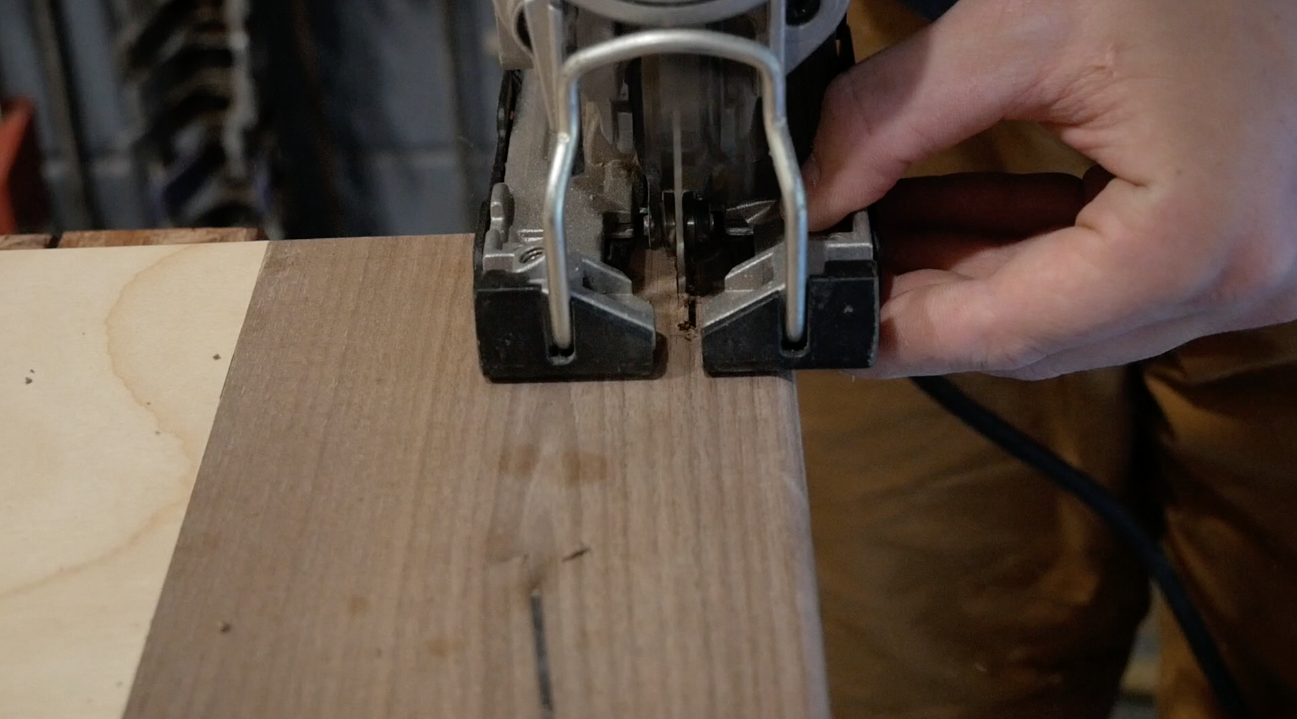 Picture of Cutting Slots for Straps
