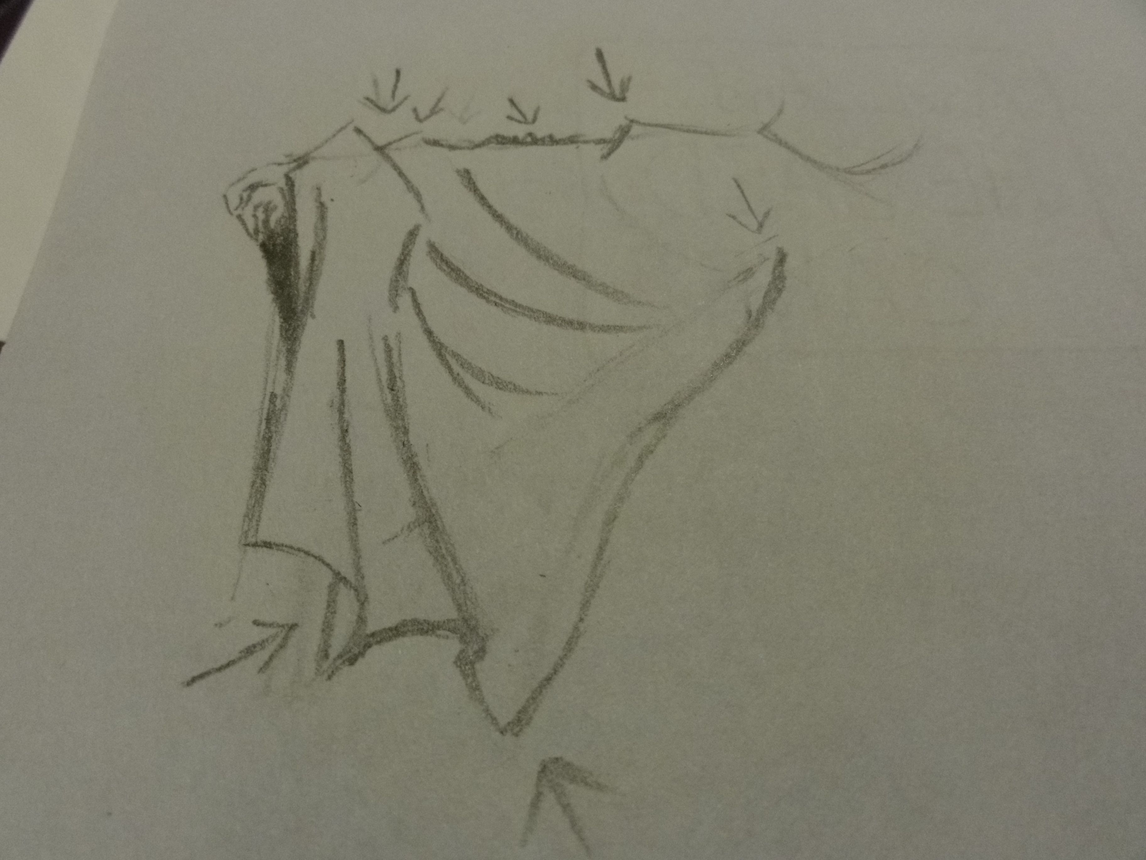 Picture of Drawing Anime Clothing Folds