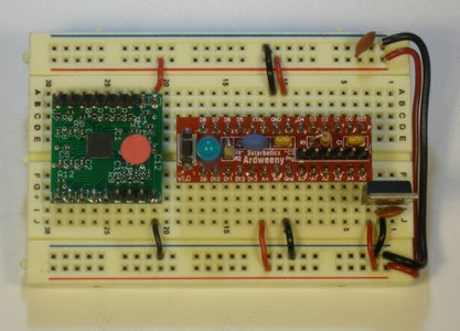 Lashing the Breakout to the Arduino