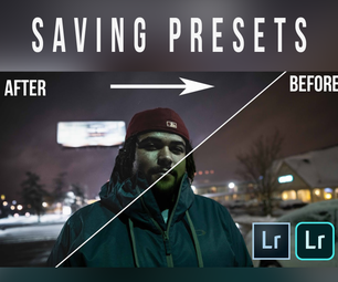 How to Save Presets in Adobe Lightroom