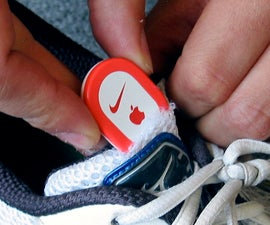 Put an iPod Nike+ sensor in any running  shoe in one minute for 5 cents