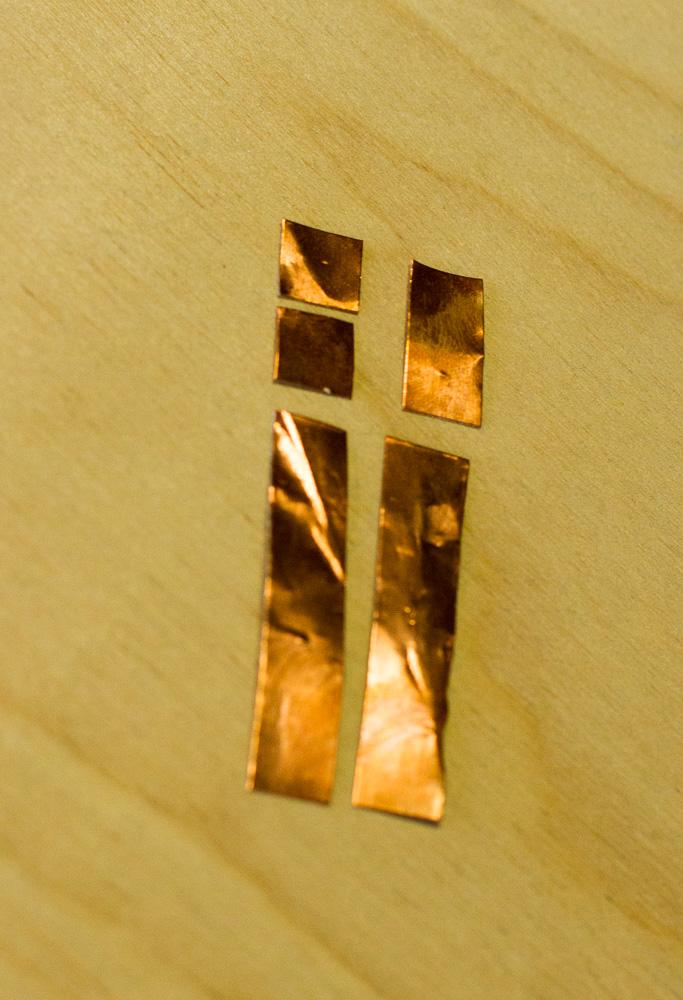 Picture of Cut the Copper Foil