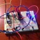 555 Timer: Flashing LED