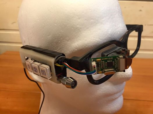 Picture of [DEPRECATED] Arduino-Based Smart Glasses by a 13-year-old - Jordan Fung's Pedosa Glass