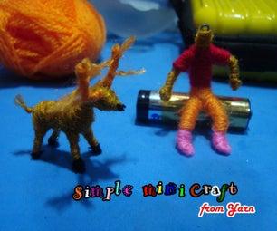 Mini Character Key Chain Craft