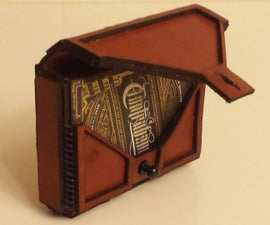 Leather Playing Card Pouch