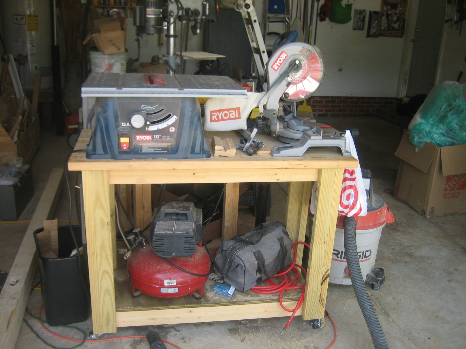 Picture of MY SMALL TABLE SAW CART