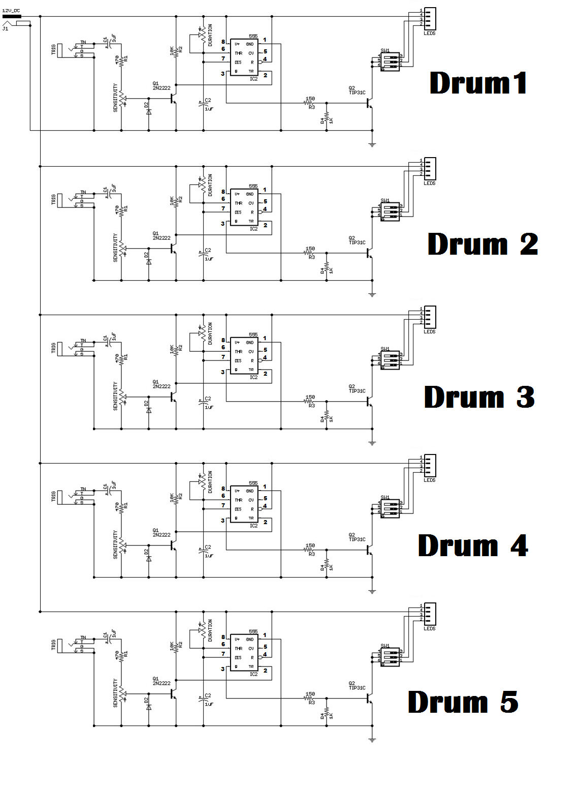 Picture of Create the Circuit