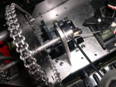 Assembly of the Sprockets and Chains