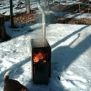 MacGyver Style Indestructible Maple Sugar Evaporator from Filing Cabinet