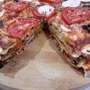 Vegetable Pizza Cake