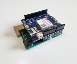 Botletics LTE CAT-M/NB-IoT + GPS Shield for Arduino
