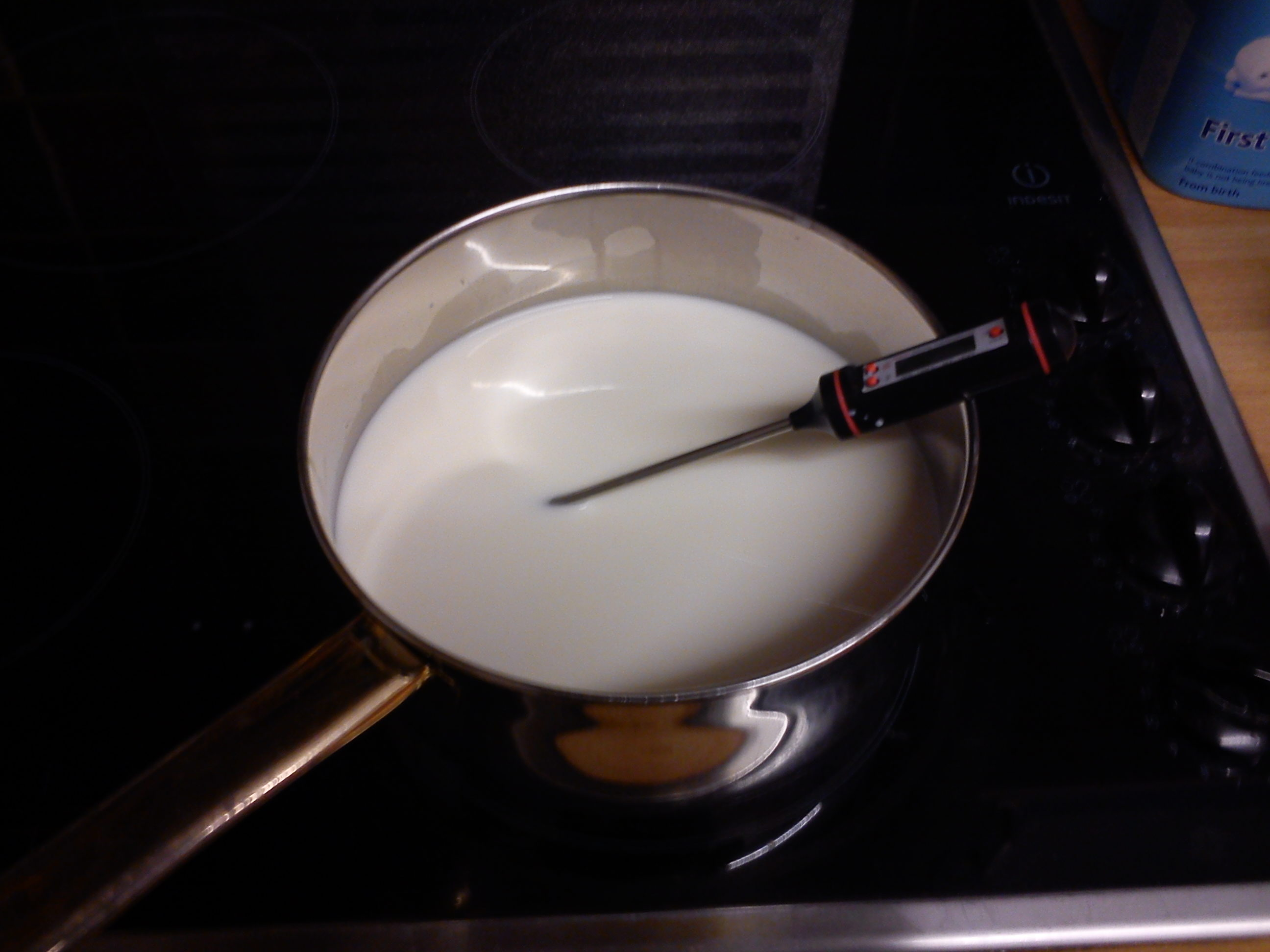 Picture of Gently Heat the Milk