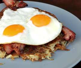 How to Cook Rustic Hash Browns (Diner Style)