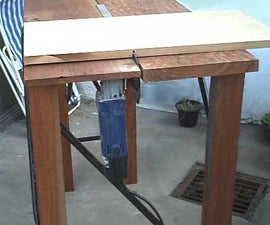 A cheap & useful cutting table