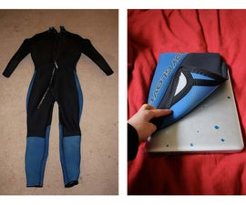 How to Make a Laptop Case/Bag out of an Old Wetsuit