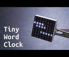 Tiny Word Clock
