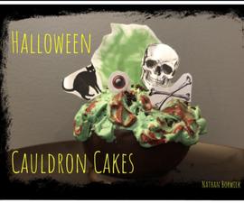 Halloween Cauldron Cakes
