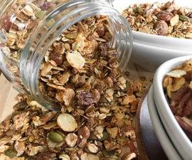 Hearty Granola Recipe
