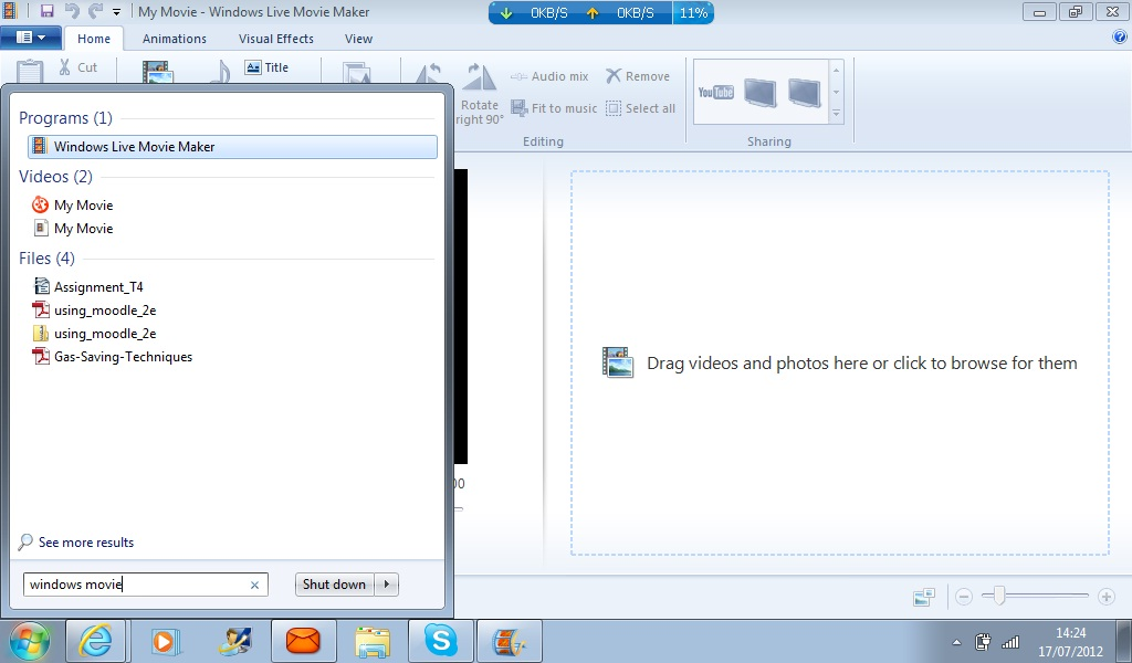 Picture of How to Make a Film With Pictures Using Windows Movie Maker
