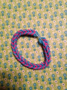 Fishtail-blue and Pink
