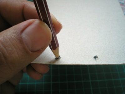 Attaching the Pencil / Anadiendo El Lapiz