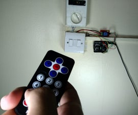 Control Home Lights With an IR Remote