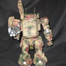 Camoflauge B-ATM-03 FATTY GROUND CUSTOM (airbrushed)