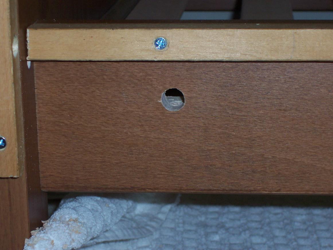 Picture of Receiver Hole for Locking Pin