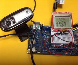 Webcam Monochrome Display System Using Galileo GEN2