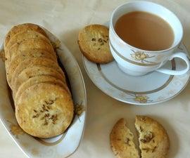 Zeera/Cumin Tea-Biscuits Recipe
