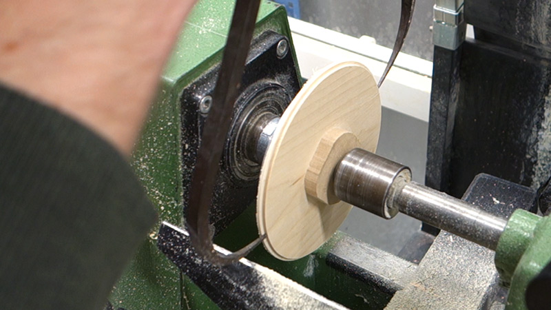 Picture of Top and Bottom: Lathe