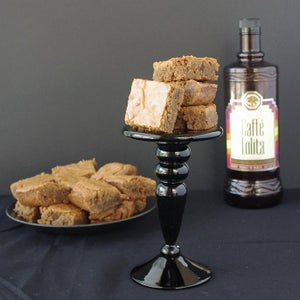 Double Coffee Brown Butter Blondies