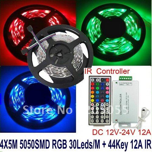 Picture of Step 1: Go to Your Local Electronics Supplies Store and Buy Some RGB LED-cable Lighting.