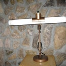 LED Steampunk Swingarm Desk Lamp