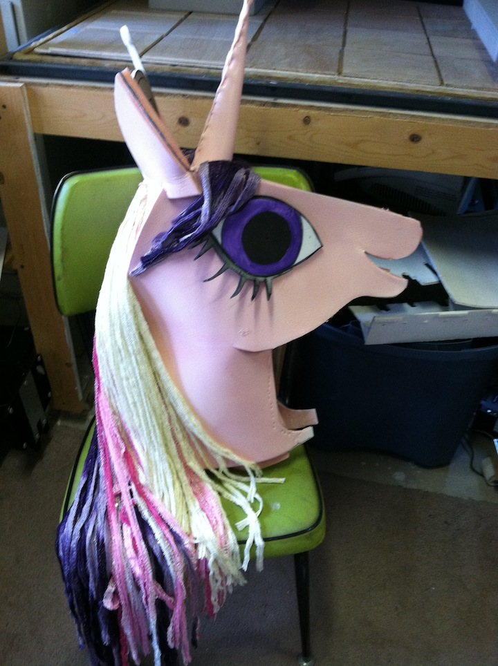 Picture of My Little Pony Costume Head