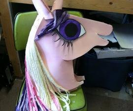 My Little Pony costume head
