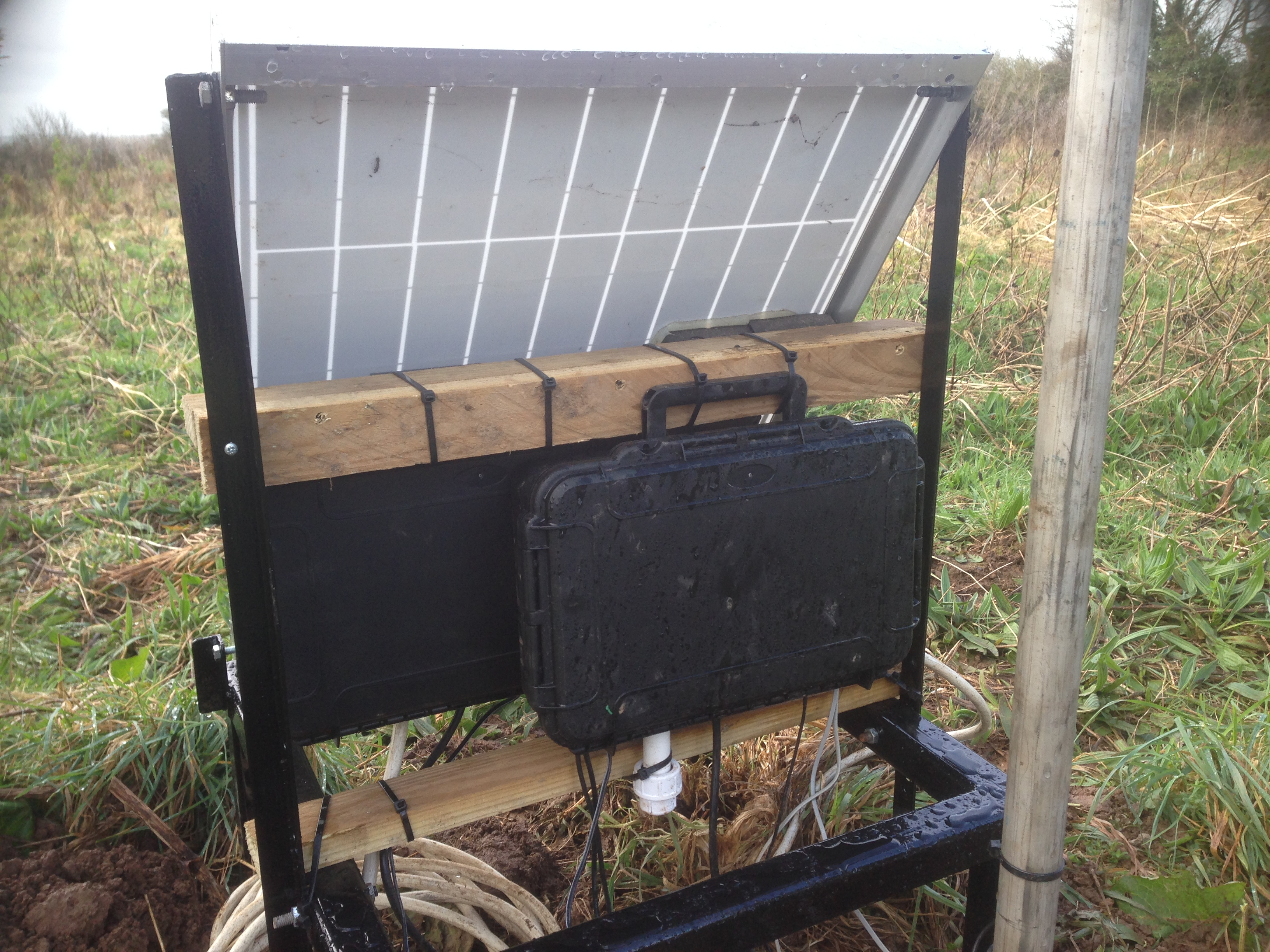 Picture of Mounting the Solar Panel