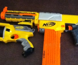 Awesome Nerf mod: connect your Nerf guns