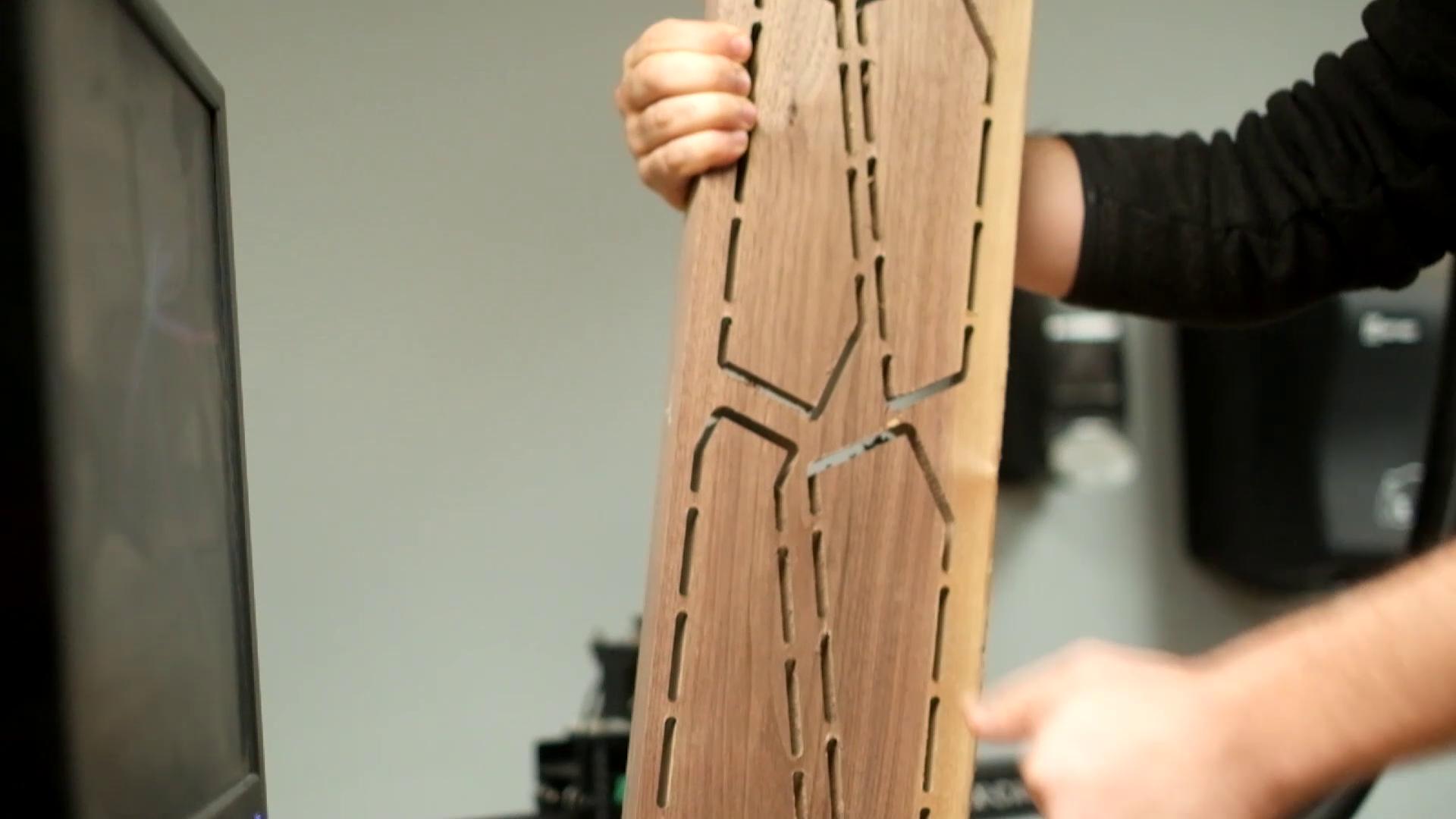 Picture of CNC Leg Pieces
